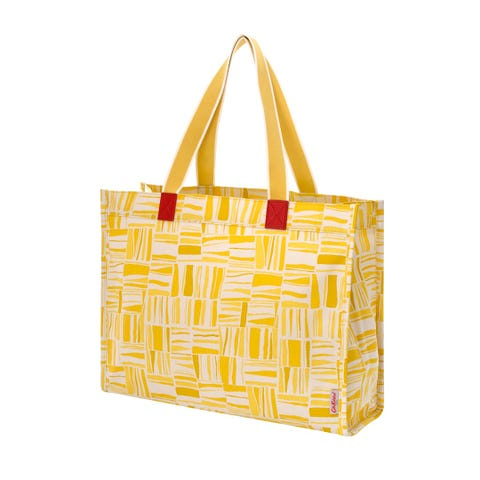 Painted Woodblock The Milly Tote