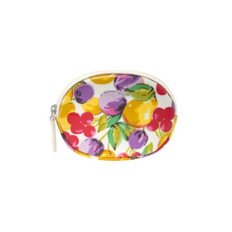 Small Painted Fruit Oval Coin Purse