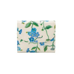 Forget Me Not Small Foldover Wallet