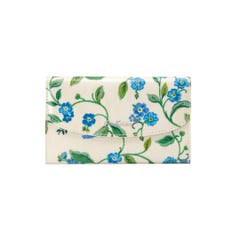 Forget Me Not Foldover Wallet