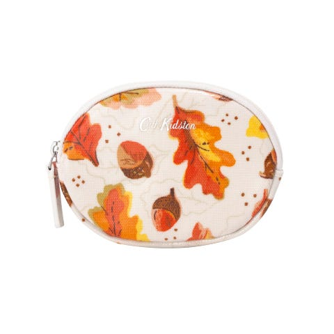 Falling Leaves Oval Coin Purse