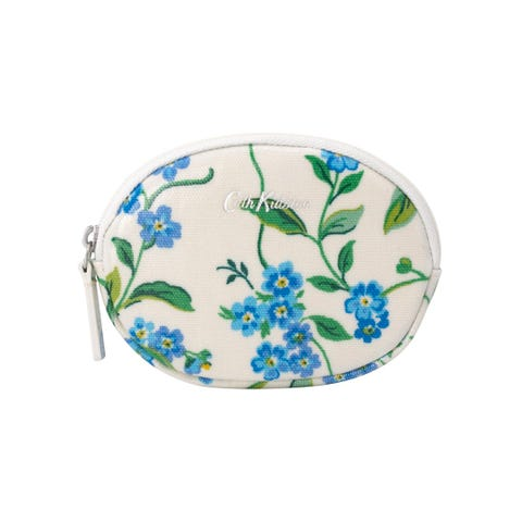 Forget Me Not Oval Coin Purse