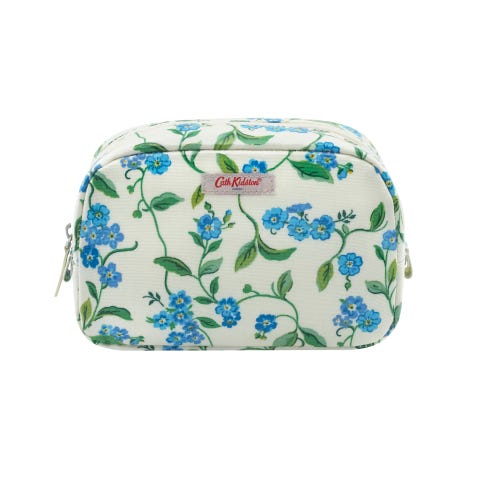 Forget Me Not Classic Cosmetic Case Cream