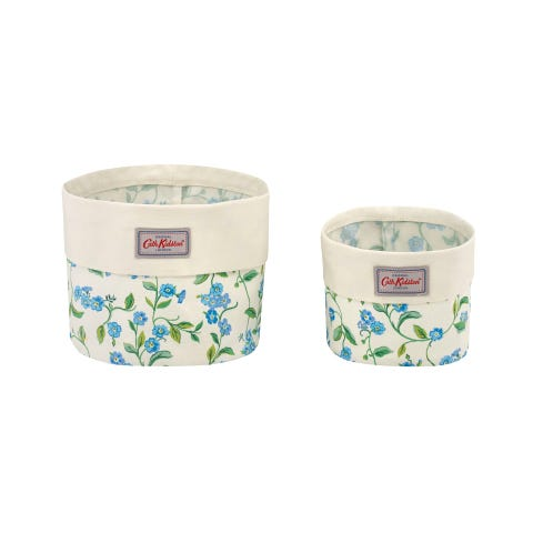Forget Me Not Baskets X 2