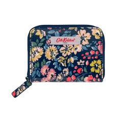 Flower Meadow Mini Continental Wallet