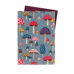 Mini Mushrooms Passport Holder