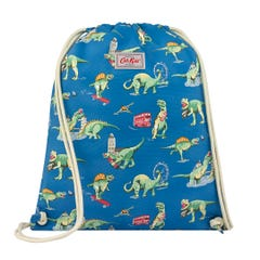 Dinos In London Kids Drawstring Bag