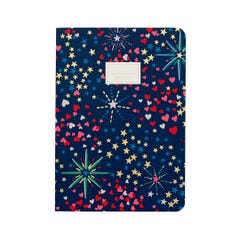 Midnight Stars A5 Soft Cover Notebook