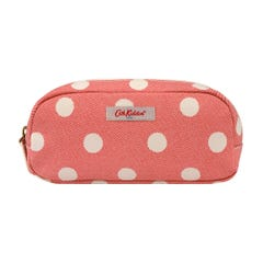 Button Spot Twill Pencil Case with Pocket