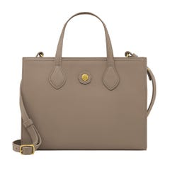Small Leather Cross Body Tote
