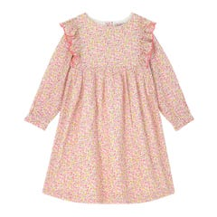 Ashbourne Ditsy Long Sleeve Frill Dress