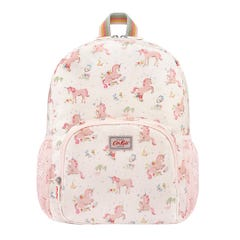 Unicorn Meadow Kids Classic Large Rucksack with Mesh Pocket