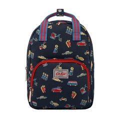 Garage Station Kids Medium Backpack with Chest Strap