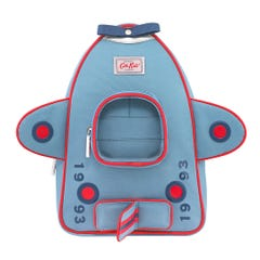 Solid Medium Novelty Aeroplane Backpack with Chest Strap