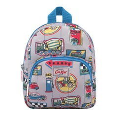 Garage Badges Kids Mini Quilted Rucksack with Chest Strap