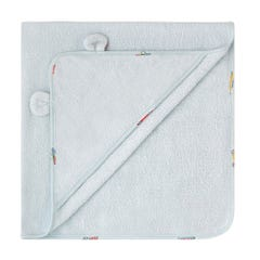 Spaced Garage Station Hooded Baby Towel