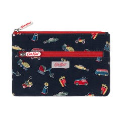 Garage Station Kids Double Zip Pencil Case