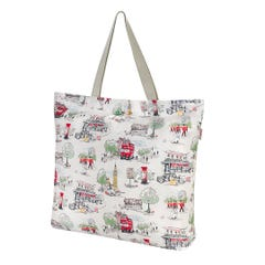 Billie Goes to Town Large Foldaway Tote