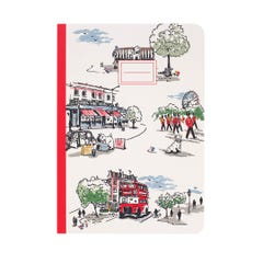 Billie Goes to Town A5 Notebook