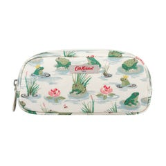 Bathing Frogs Pencil Case with Pocket