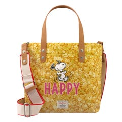 Snoopy Happy Paper Ditsy Brampton Tote Small