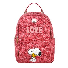 Snoopy Love Paper Ditsy Pocket Backpack