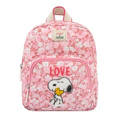 Snoopy Love Paper Ditsy Kids Mini Rucksack