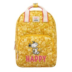 Snoopy Happy Paper Ditsy Kids Medium Backpack