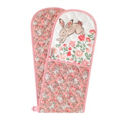 Jumping Bunnies Double Oven Glove