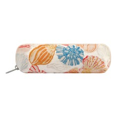 Seaside Shells Curved Pencil Case