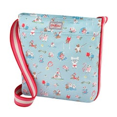 Sporty Dogs Zipped Messenger Bag