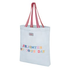 Brighten Up Your Day Perfect Webbing Shopper
