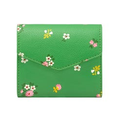 Spaced Bath Flowers Pebble PVC Medium Envelope Wallet