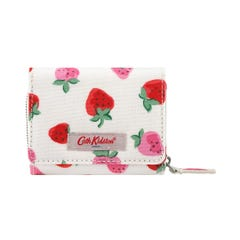 Sweet Strawberry Small Foldover Wallet