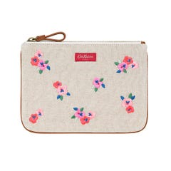 Pansy Twill Premium Cotton Pouch