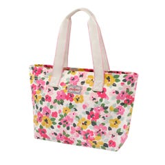 Large Painted Pansies Large Casual Brampton Tote