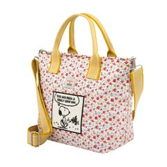 Snoopy Tiny Rose Casual Brampton Small Tote