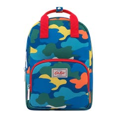 Camouflage Kids Medium Backpack with Chest Strap