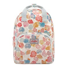 Small Seaside Shells Kids Medium Backpack with Chest Strap