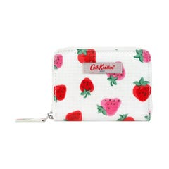 Sweet Strawberry Mini Continental Zip Wallet