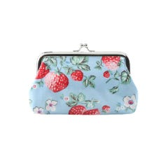 Mini Wild Strawberry Clasp Purse large