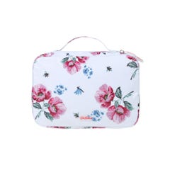 Wild Garden Foldout Washbag with Handle