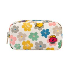 Little Miss Flowers Box Cosmetic Bag