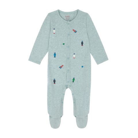 Space Robots Sleepsuit and Hat Set