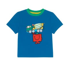 Mr Men Transport Kids Short Sleeve T-shirt