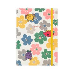 Little Miss Flowers Pu Notebook
