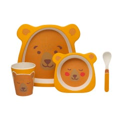 Woodland Bear Novelty Bear Mealtime Set