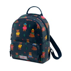 Woodland Bear Small Backpack