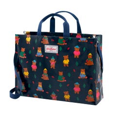 Woodland Bear Strappy Carryall