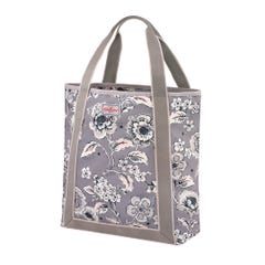 Chintz Flower Webbing Tote Grey